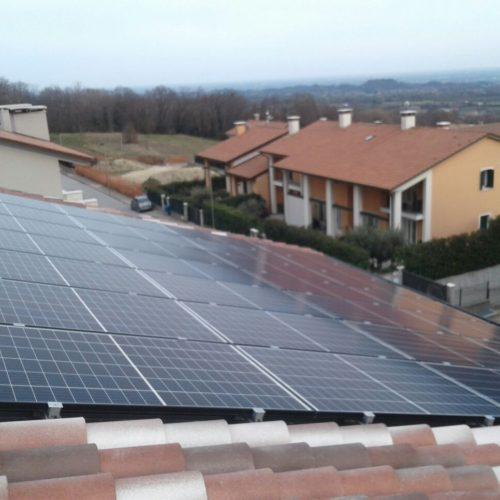 Impianto fotovoltaico da 4Kw